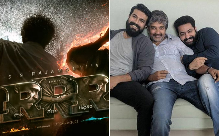 RRR Movie Climax shoot begins, SS Rajamouli shares still on social media