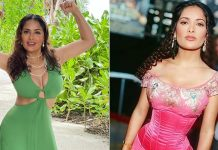 Salma Hayek talks of her 'wild wild waist'
