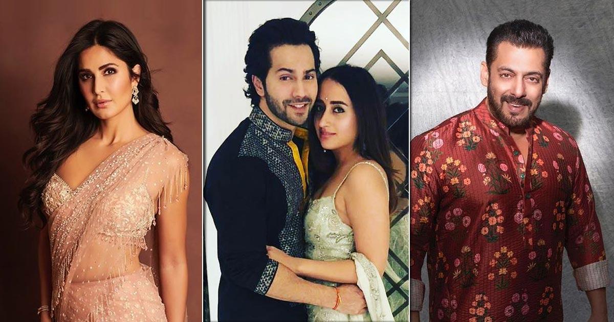 Varun Dhawan, Natasha Dalal Wedding: Salman Khan, Katrina Kaif To Join The Celebrations?