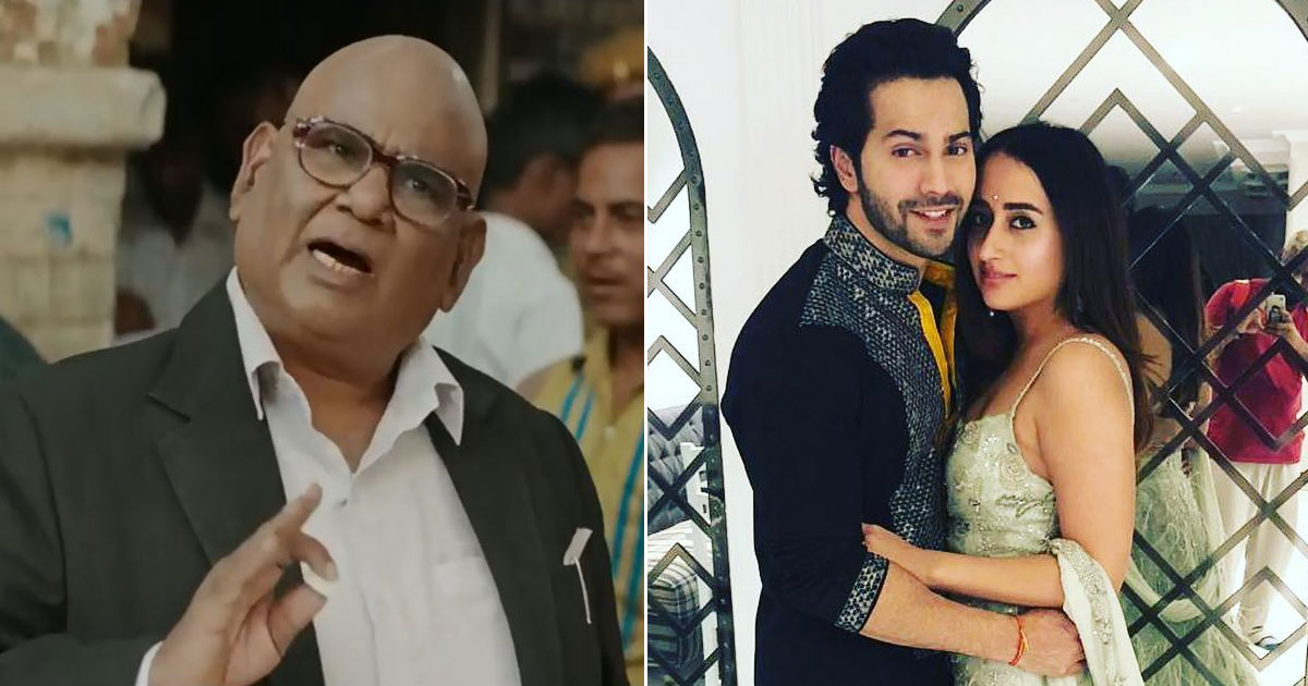 "Exclusive! Satish Kaushik On Attending Varun Dhawan & Natasha Dalal Wedding: ""Even Though David & I Are Good Friends…"""