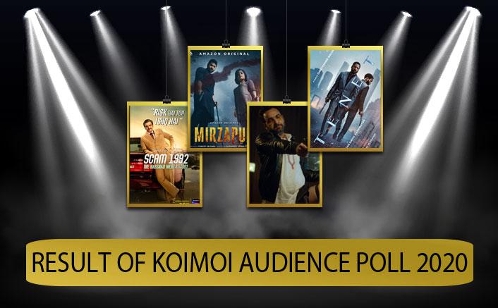 Scam 1992 Crushes Mirzapur 2, Tenet Wins Big & Pankaj Tripathi Spreads Laughter - Result Of Koimoi Audience Poll 2020
