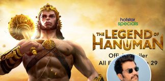 Sharad Kelkar turns narrator for 'The Legend Of Hanuman'