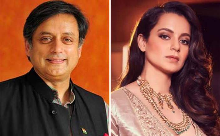 """Shashi Tharoor Agrees With Kangana Ranaut's Counter Argument, But Adds """"It's About Recognising The Value Of Unpaid Work"""""""