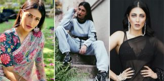 Shruti Haasan Birthday Special: From Black Saree To A Goth Look – 5 Times The South Beauty Inspired #FashionGoals!