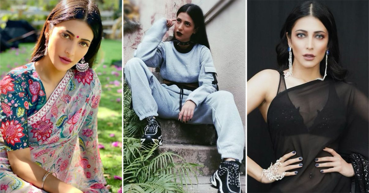 From Desi To Videsi – 5 Times Birthday Girl Shruti Haasan Was At The Top Of Her Fashion Game