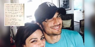 Shweta Singh Kriti Shares An Unseen Note Of Sushant Singh Rajput's Perspective Towards Life & We're Inspired Yet Again!