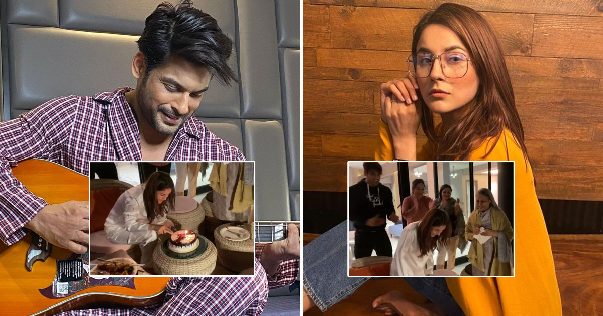 Sidharth Shukla Throws Shehnaaz Gill Into The Pool During Birthday Celebrations, Watch