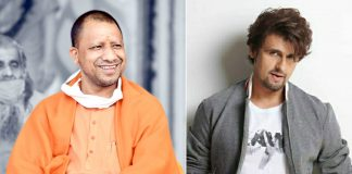 Sonu Nigam meets Yogi after visiting Ayodhya