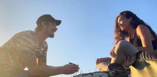 'Suicide Squad' star Joel Kinnaman, model Kelly Gale engaged
