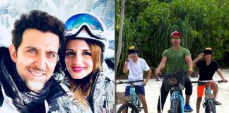 Sussanne calls Hrithik Roshan the best dad in the world on his b'day