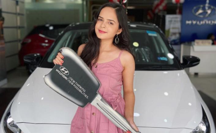 Taarak Mehta Ka Ooltah Chashmah Fame Palak Sidhwani Buys A New Car
