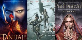 Uri: The Surgical Strike To Tanhaji - Take A Look At Top 5 January Grossers