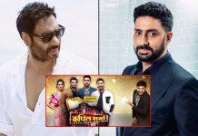 The Kapil Sharma Show: Abhishek Bachchan & Ajay Devgn Promote Upcoming Film The Big Bull