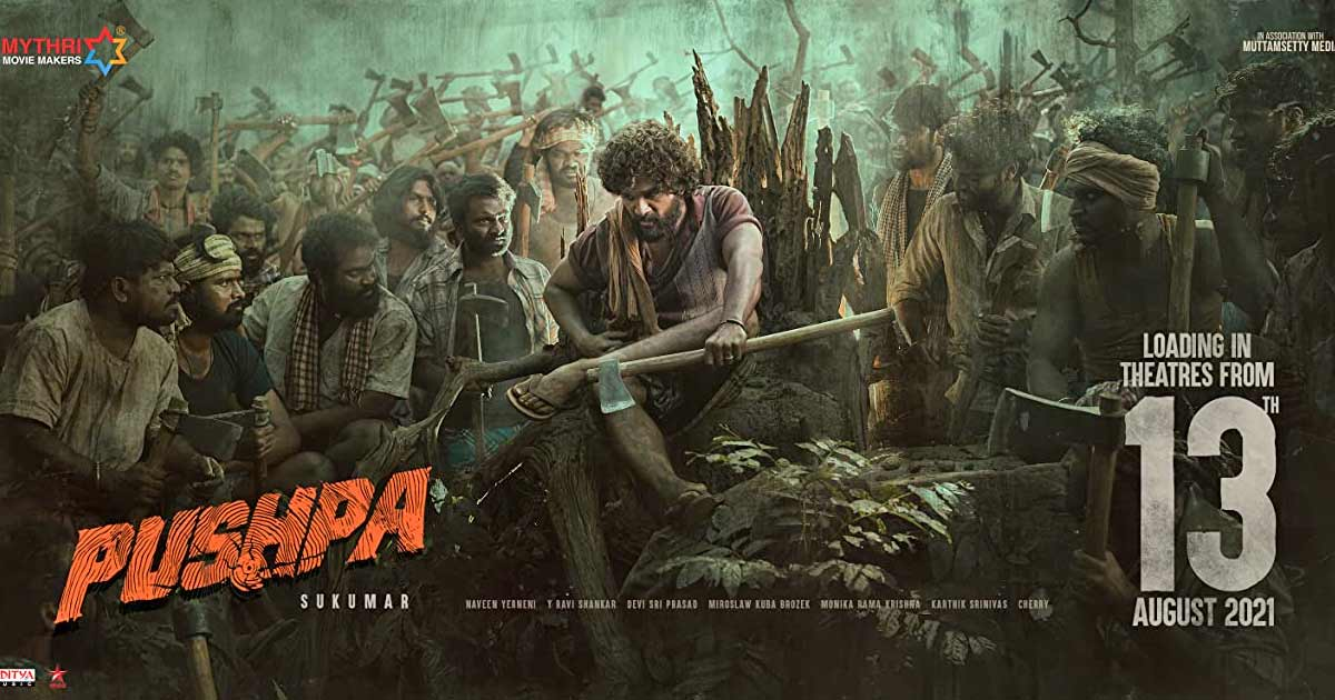 The much-awaited Allu Arjun-starrer Pushpa to release on 13th August