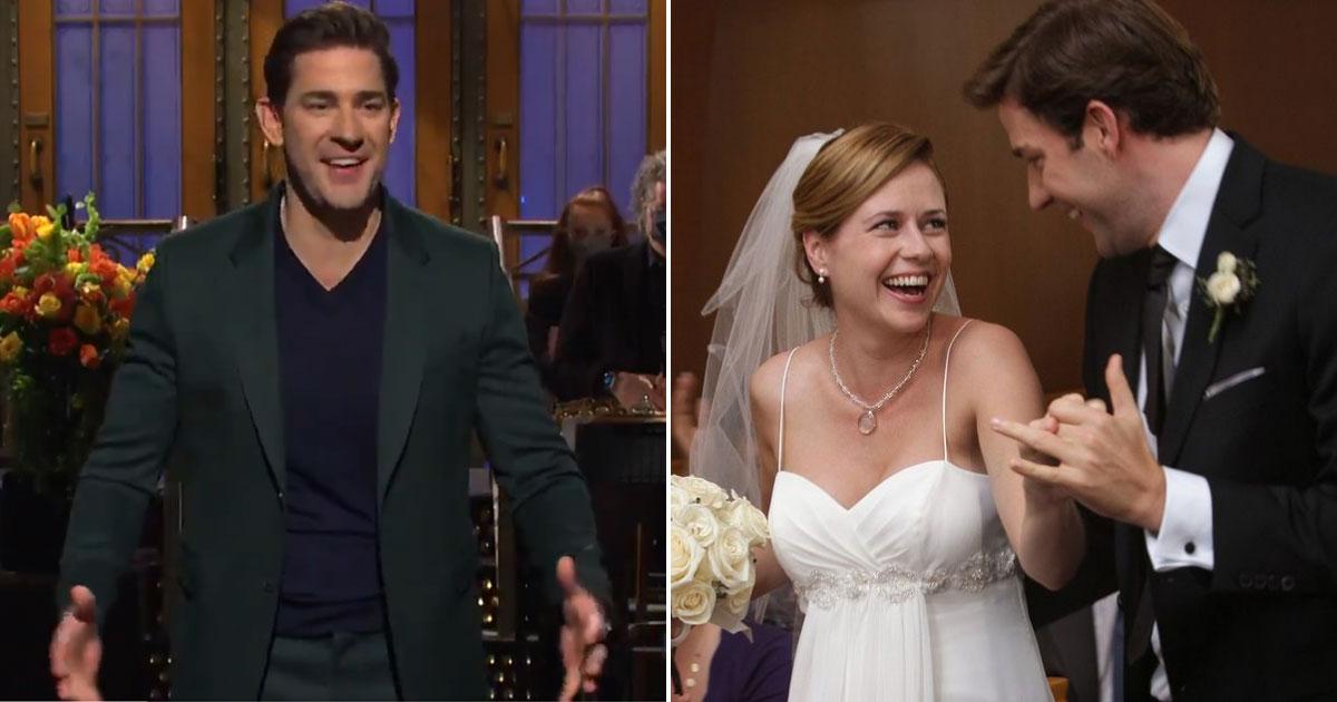 The Office: 'Jim' John Krasinski Kisses 'Pam' On Public Demand But There's A Twist Towards The End!