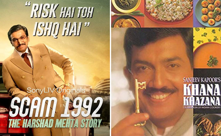 Find Out What's The Common Factor Between Scam 1992 & Khana Khazana (Photo Credit - Scam 1992 /IMDb/Khana Khazana/Twitter)