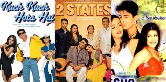 Top 5 Bollywood Films From Kuch Kuch Hota Hai To 2 States Which Will Take You Back To College Romance Days