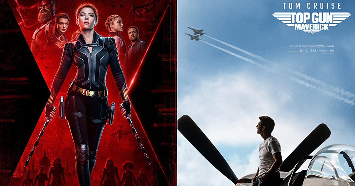 Top Gun: Maverick & Black Widow Are Likely To Be Released In Theatres?