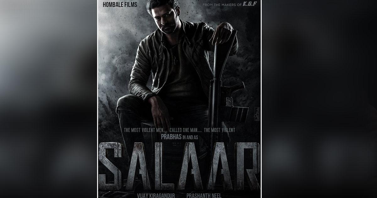 Update Of Prabhas' Salaar