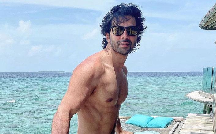 Varun Dhawan Posts Shirtless Pic
