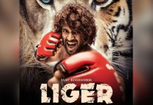 Liger First Look Out! Vijay Deverakonda Is A Crossbreed Fighter In The Fiery Poster