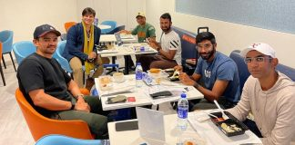 Vivek Oberoi's breakfast with 'Champions' Cheteshwar Pujara and Jasprit Bumrah