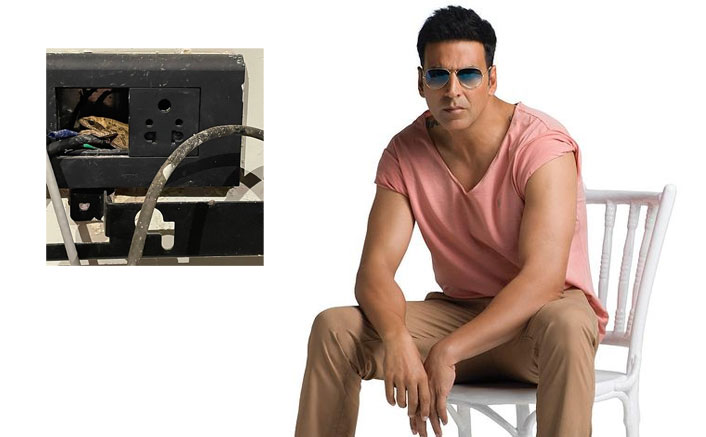 When Akshay Kumar couldn't charge his phone because of a frog