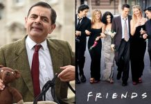 When FRIENDS Stole A Joke From Mr Bean