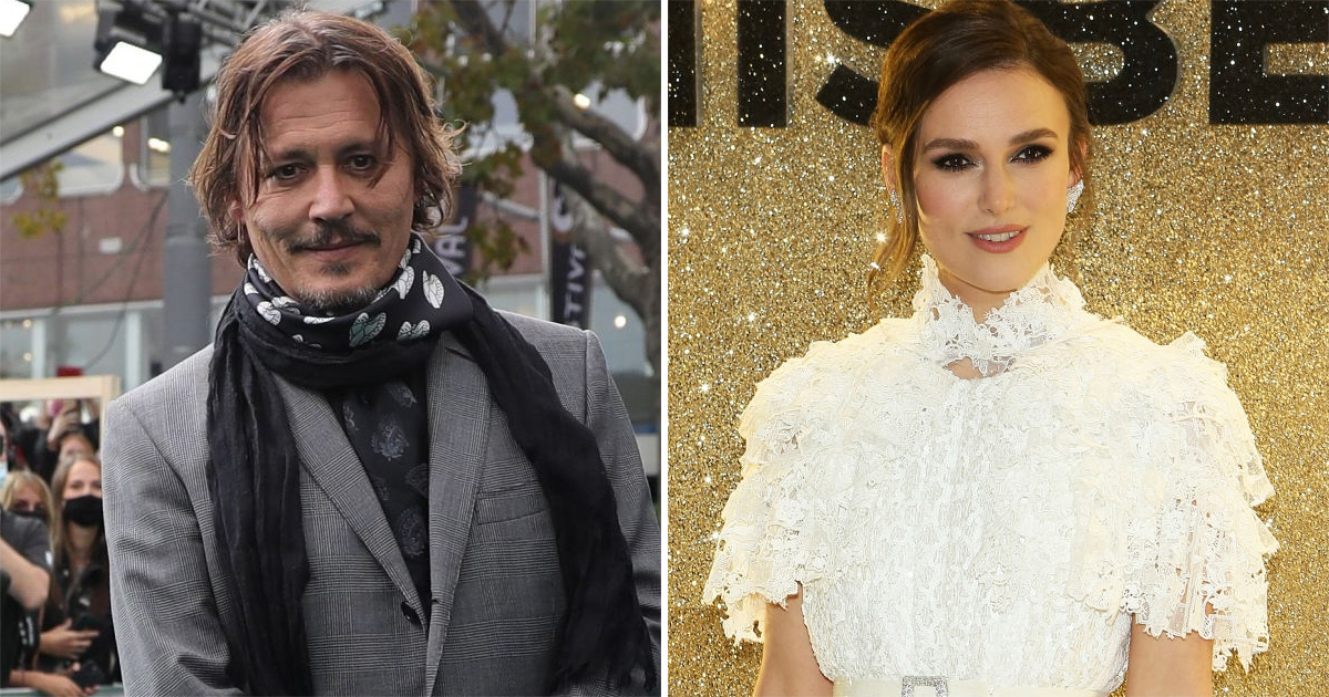 When Johnny Depp Was Uncomfortable Kissing Keira Knightley In Pirates Of The Caribbean