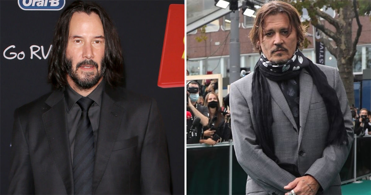 Keanu Reeves Once Said Johnny Depp Looks Better Than Him