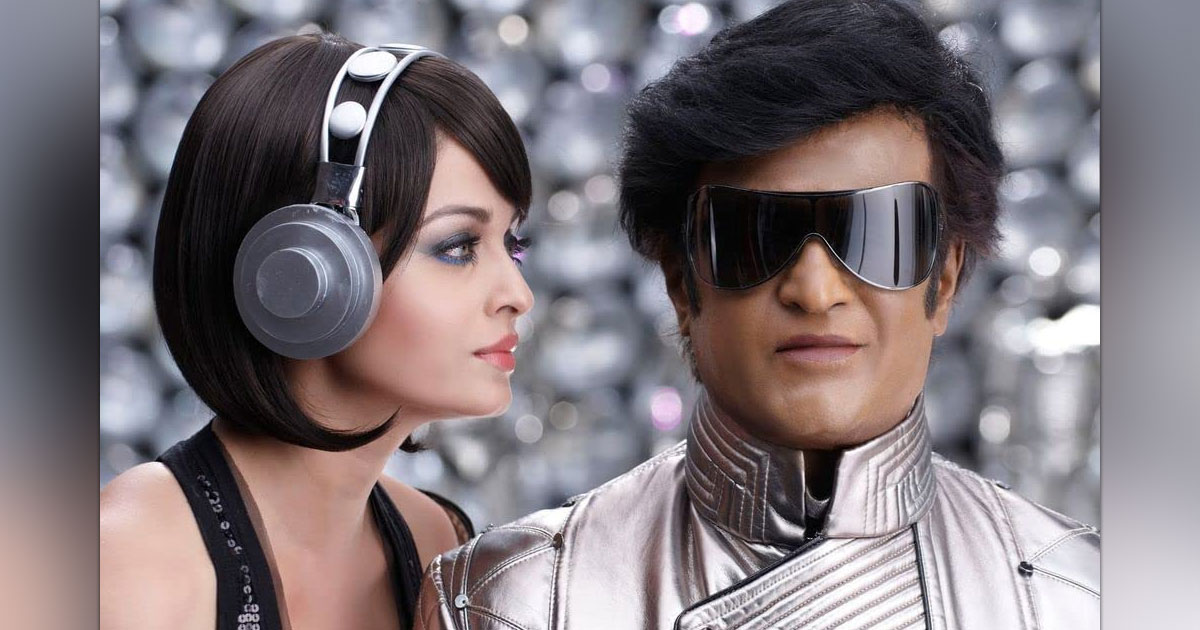 When Rajinikanth Made Fun Of Himself Because Of Getting The Lead Role Opposite Aiswarya Rai Bachchan In Robot, Check Out