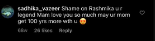 Rashmika Mandanna Getting Trolled On Anushka Shetty's Post