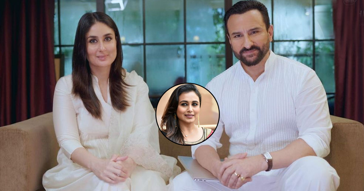 Saif Ali Khan Reveals The Relationship Advice Rani Mukerji Gave Him On Dating Kareena Kapoor Khan, Check Out