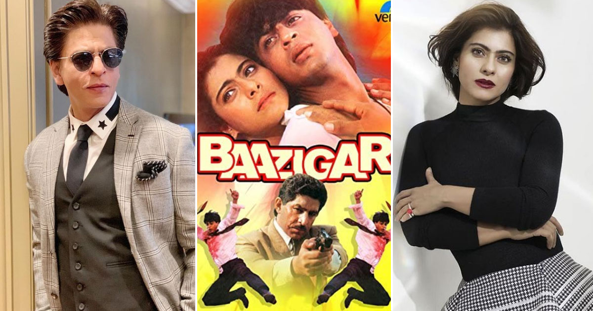 When Shah Rukh Khan Pinched Kajol During A Romantic Scene In Baazigar