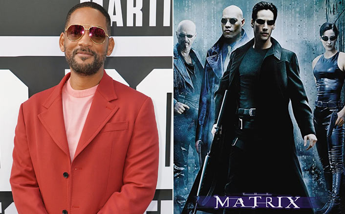 Will Smith & The Poster Of The Matrix