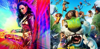 Wonder Woman 1984 & The Croods: A New Age Continue To Slip Downwards