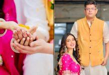 Writers Kanika Dhillon and Himanshu Sharma tie the knot