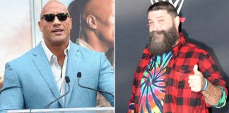 WWE Legend Mick Foley Reminds Dwayne Johnson AKA The Rock Of 'I Quit' Match