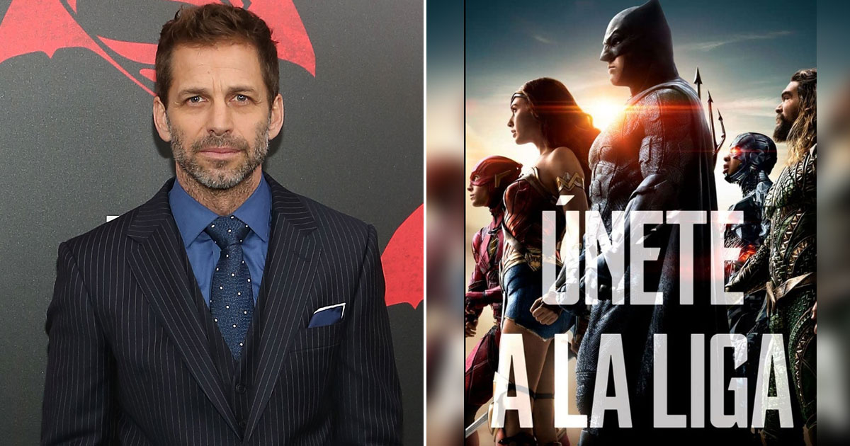Zack Snyder Opens Up On Stepping Down As Justice League Director Back In 2017