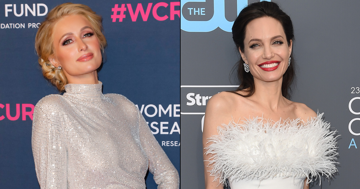 From Angelina Jolie To Paris Hilton, 4 Firangi Actresses Who Rocked The Saree Look Like A Pro