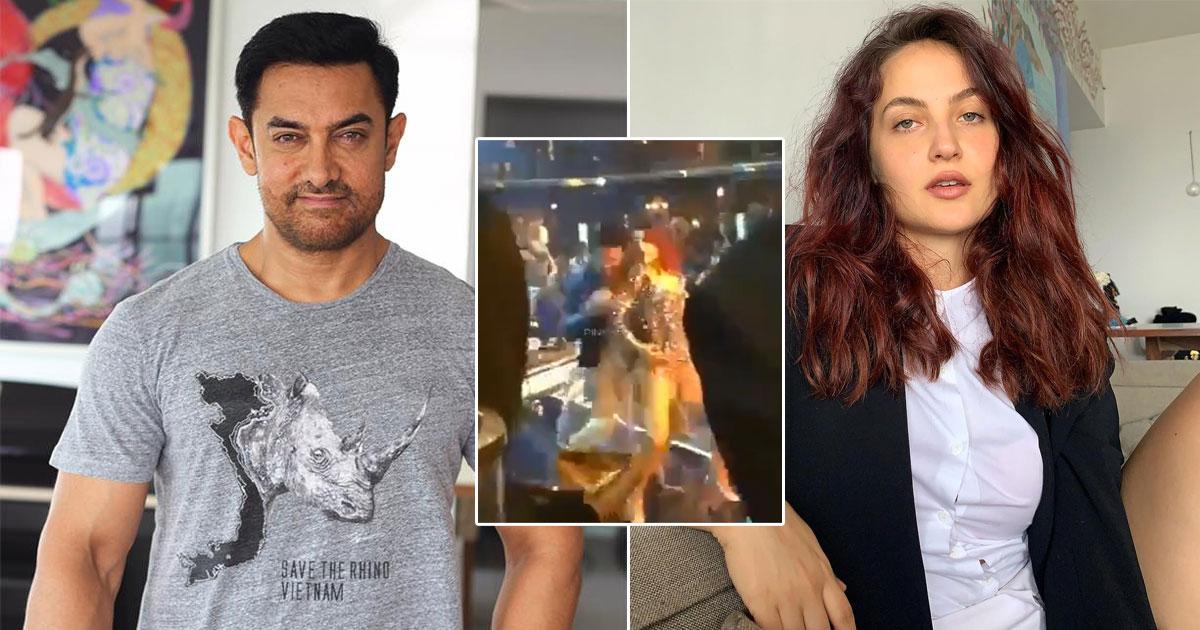 Aamir Khan & Elli AvrRam's Leaked Dance Video From The Sets Of Koi Jaane Na Will Make You Groove