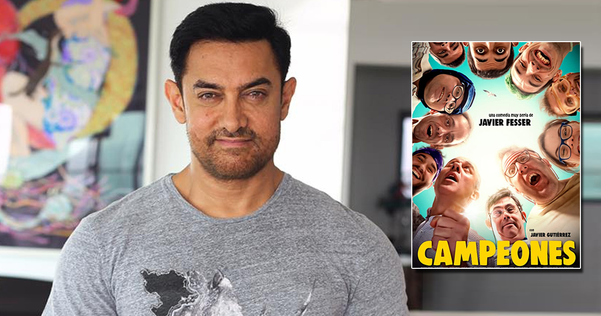 Aamir Khan To Play A Drunkard Coach In RS Prasanna's Adaptation Of Spanish Film Campeones?