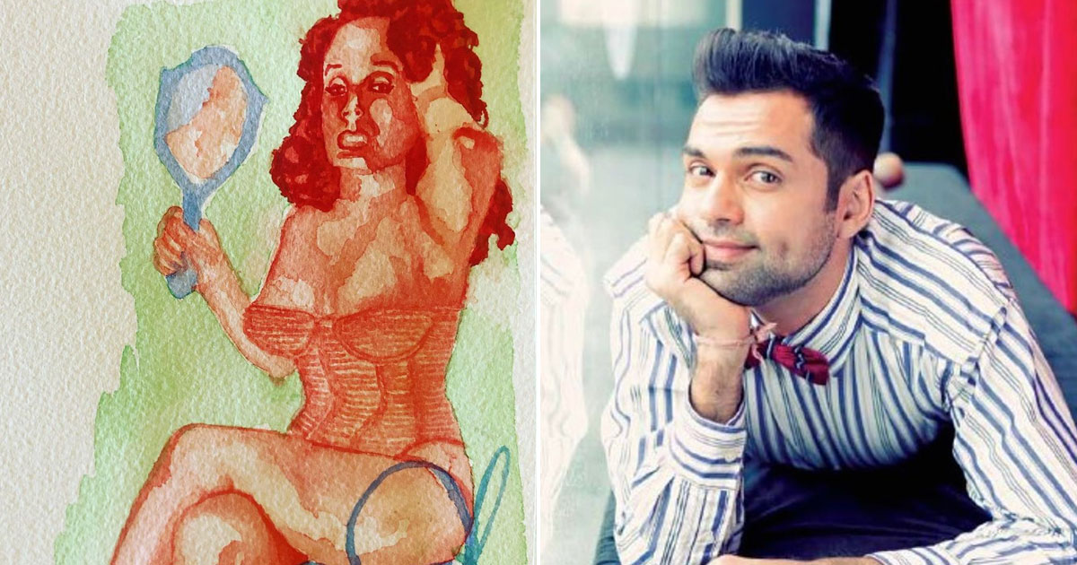 Abhay Deol flaunts his 'experiments with painting'