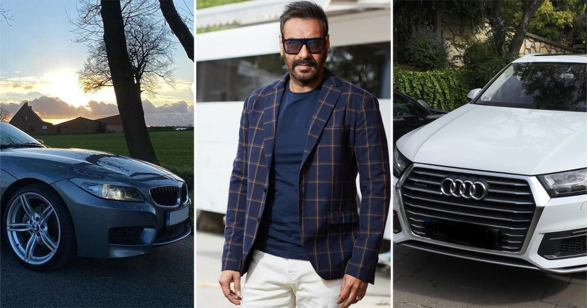 From Audi Q7 To BMW Z4: Here Are Ajay Devgn's Luxurious Car Collection