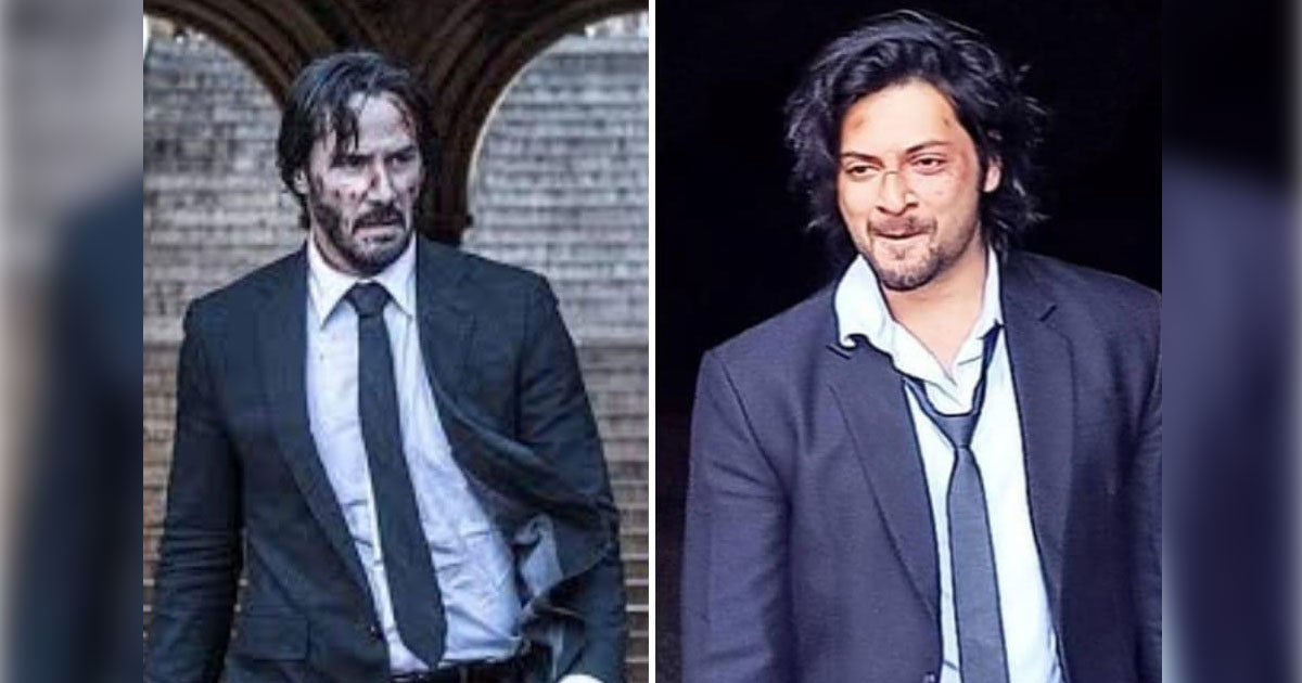 Is Ali Fazal Taking The Keanu Reeves Way & Getting Inspired From John Wick's Look For His Next?