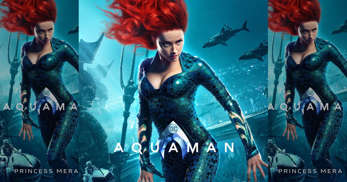 Aquaman 2: Amber Heard Afraid Of Losing Limelight To The New Female Lead & Hence Upset With Warner Bros?