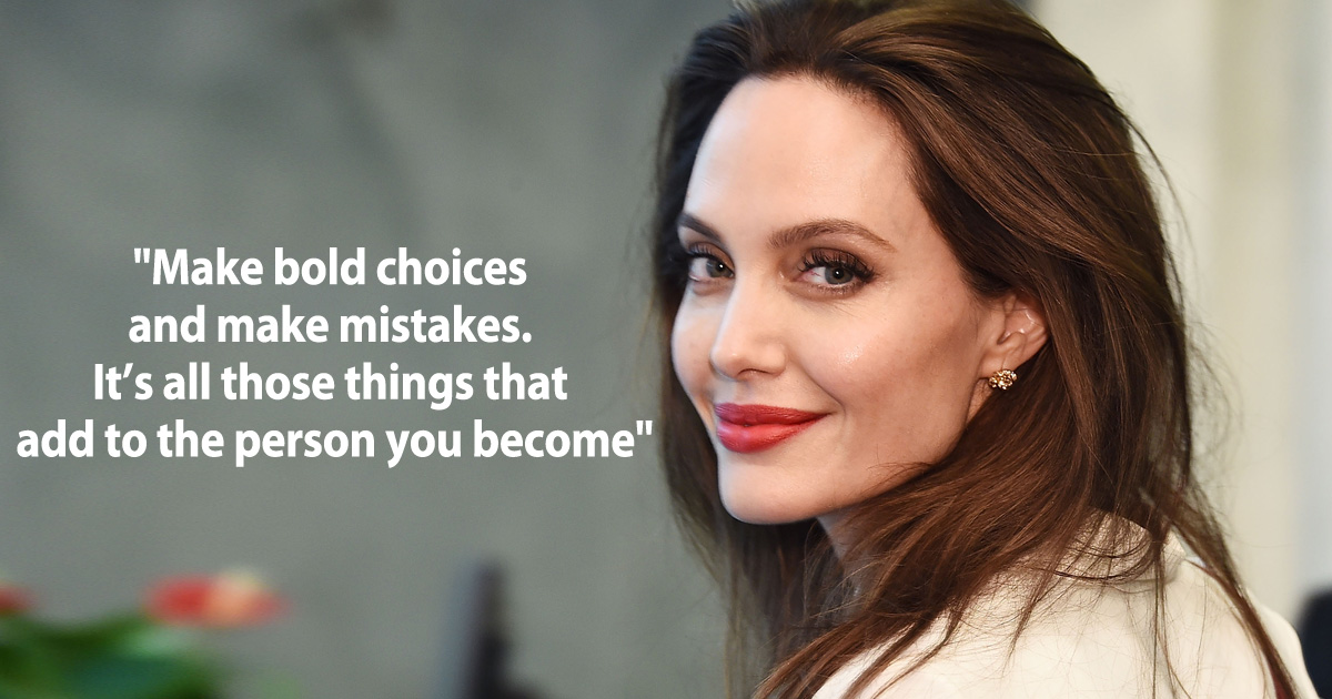 Angelina Jolie Is A Boss Lady We All Need In Life - Her Quotes Are What We Need To Fade Away Wednesday Blues, Read On