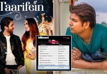 Ankit Tiwari's song 'Taarifein' in top 10 of Billboard Triller Global Charts
