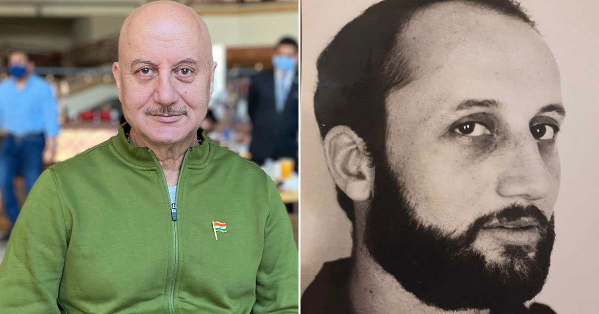 Anupam Kher Goes Down Memory Lane; Shares A Portfolio Picture Taken In 1981 & The Story Associated With It