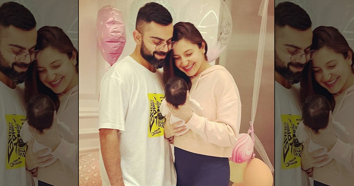 Anushka Sharma Shares First Pic With The Baby, Announces Her Name – Vamika